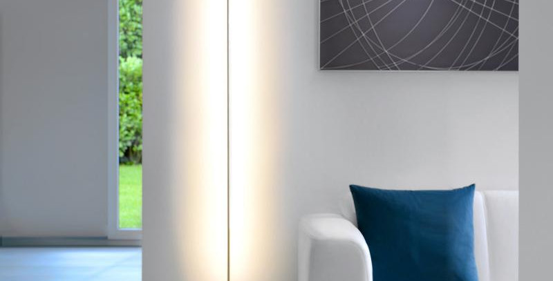 Indirekte LED Stehleuchte