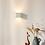 Thumbnail: Quadratische Wandleuchte - Lichtkegel verstellbar