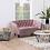 Thumbnail: 2 Sitzer Sofa in dusty rose