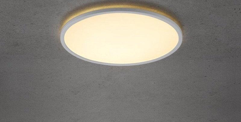 Flache LED Deckenleuchte 29cm