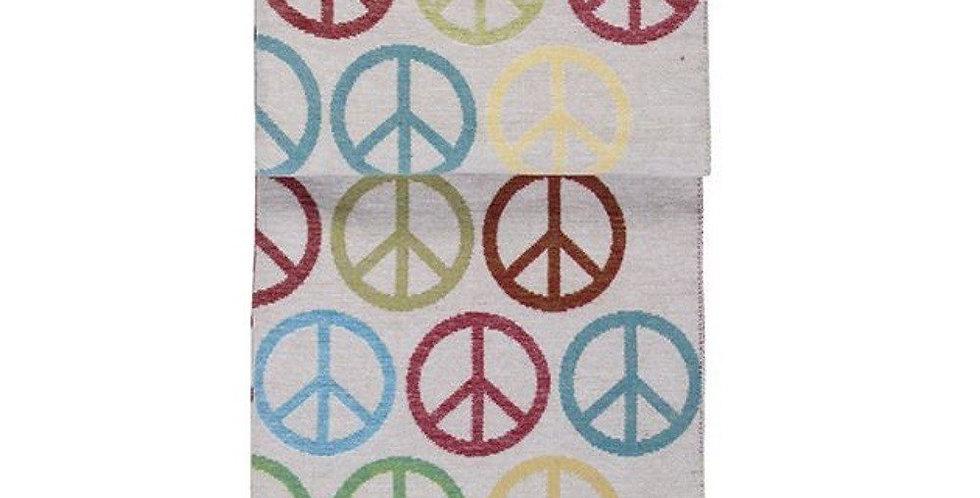 Kuschelige hochwertige Decke - Peace