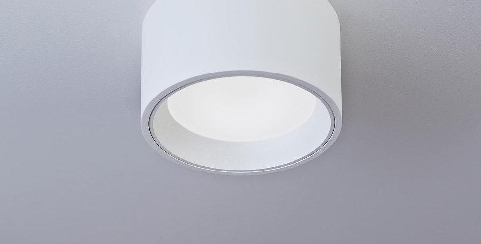 LED Deckenleuchte in matt weiss