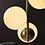 Thumbnail: 3er Glaspendelleuchte