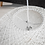 Thumbnail: Kopie von Wohnliche 60cm Pendelleuchte in weisser Sisal Optik