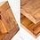 Thumbnail: Eleganter Couchtisch aus Sheesham Holz