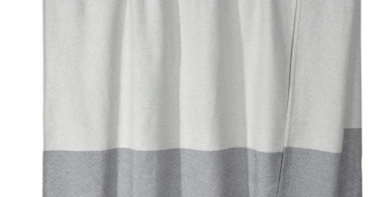 Hochwertige Sommerdecke - grau