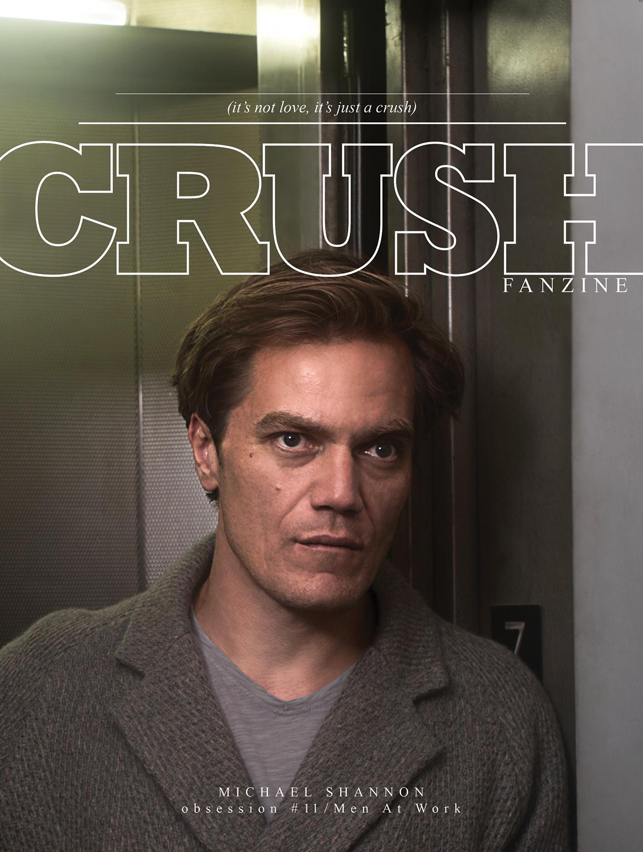 CRUSHfanzine ISSUE#11 Michael Shannon ph