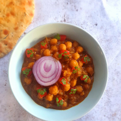 Sholay (Chickpea curry)