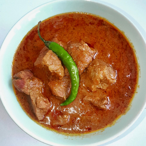 Lamb curry in a hurry!