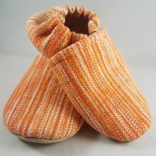 18-24 mo. Toddler Shoes - Tightrope Textiles Orange Crush (#5399)