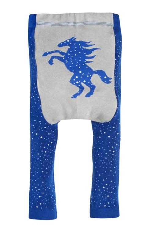 Doodle Pants Southwestern Celestial Pony Leggings (Cotton)