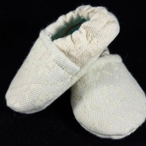 Newborn Booties - Tekhni Chloris Arctica (#1353)