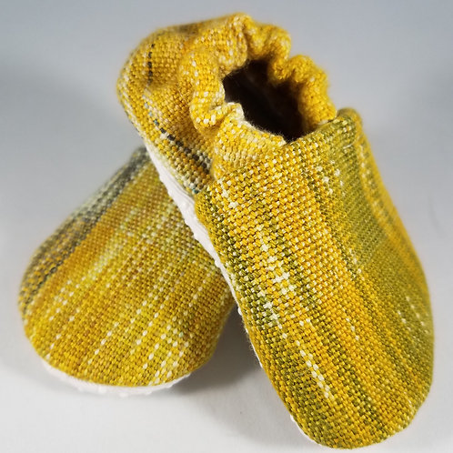 6-9 mo. Booties - Tightrope Textiles Through The Woods (#2370)