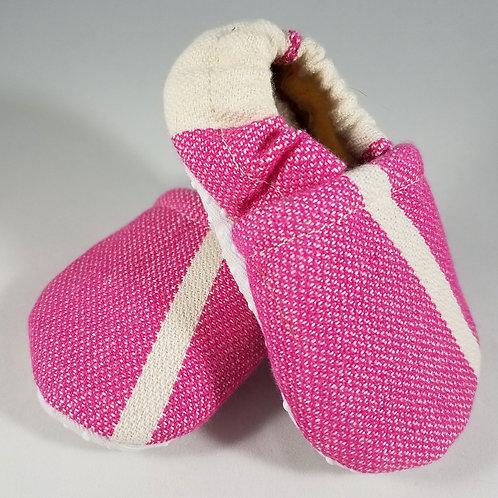 Newborn Booties - Didymos Standard Raspberry (#1360)