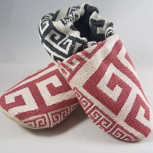 18-24 mo. Toddler Shoes - Tekhni Meandros Chili+Gothic (#5401)