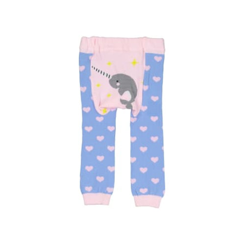 Doodle Pants Narwhal Leggings (Cotton)