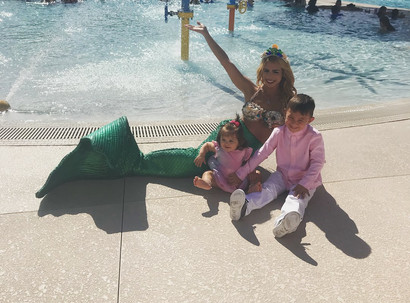 waterpark mermaid elle