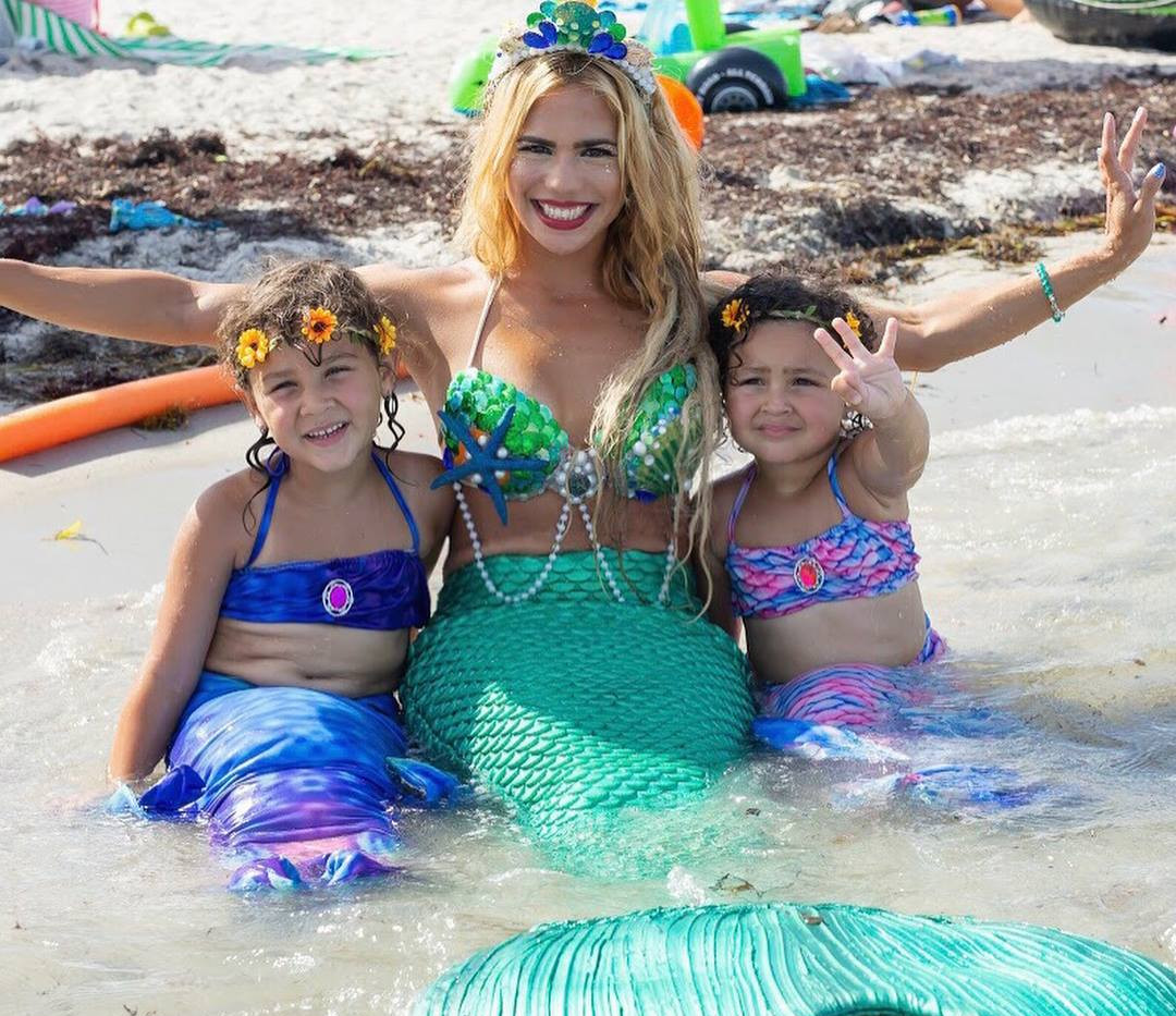 beach mermaid elle