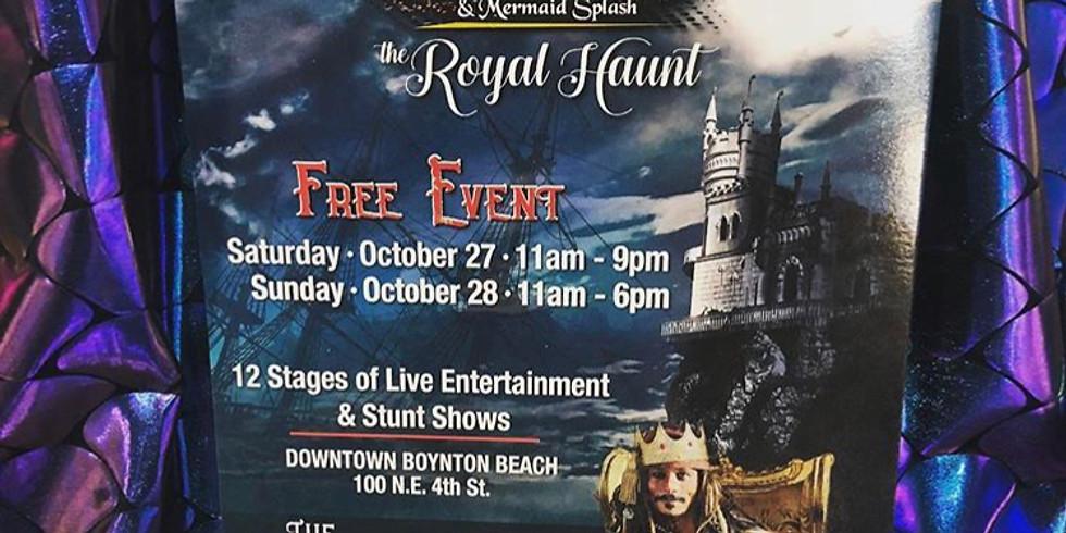 FREE EVENT: Boynton Beach Pirate Festival and Mermaid Splash