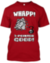 Whapp! 3-Point Shot Bulldog T-Shirt