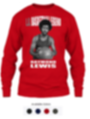 Raymond Lewis Long Sleeve T-shirt.png