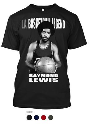 LA Basketball Legend Raymond Lewis T-Shi