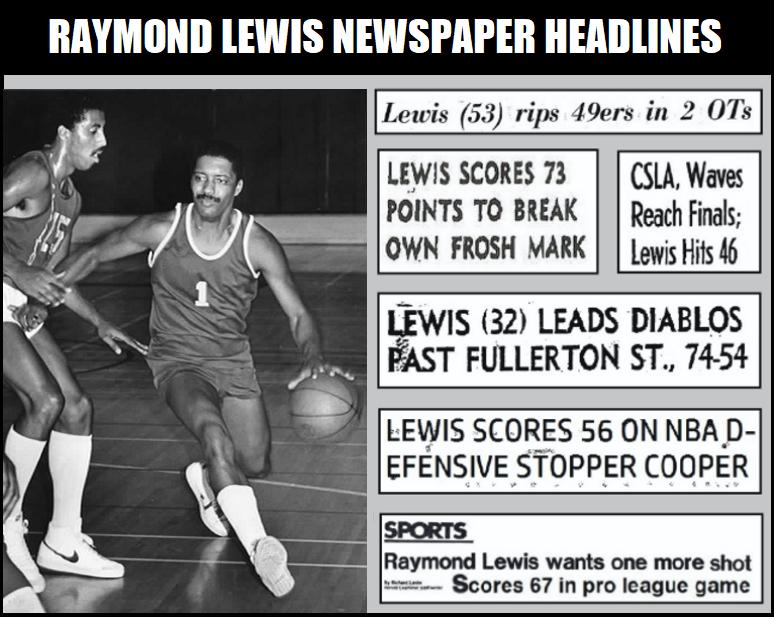 Raymond Lewis Newspaper Headlines