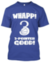 Whapp! 3-Point Shot T-Shirt