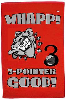 Custom Whapp! 3-Point Shot Bulldog Rally Towel