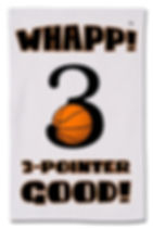 Whapp! 3-Point Shot Rally Towels