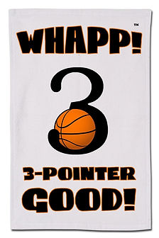 Whapp! 3-Pont Shot Rally Towel