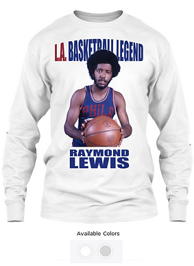 Raymond Lewis Sixer Long Sleeve  Colored