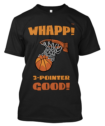Whapp! 3-Point Shot T-Shirt