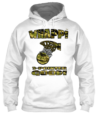 Whapp! 3-Point Shot Camoflauge Hoodie