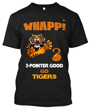 Custom Whapp! 3-Point Shot T-Shirt