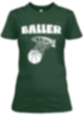 Baller Green  fitted tee.png