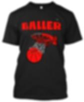 Baller Basketball T-shirt