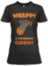 Whapp! black and tan womens tee.png