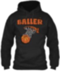 Baller Basketball Hoodie