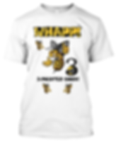 Whapp! 3-Point Shot Yellow Jacket T-Shirt
