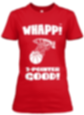 Whapp! women's red fitted tee.png