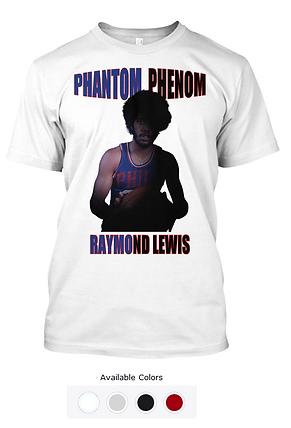 Raymond Lewis White Sixer Tee.png