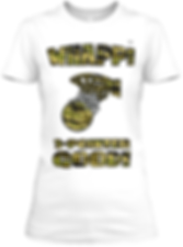 Whapp! 3-Point Shot Women's Fitted T-Shirt