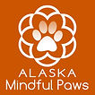 Alaska Mindful Paws Mandala Logo