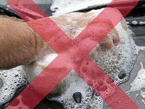 6 Car Washing Mistakes to Avoid