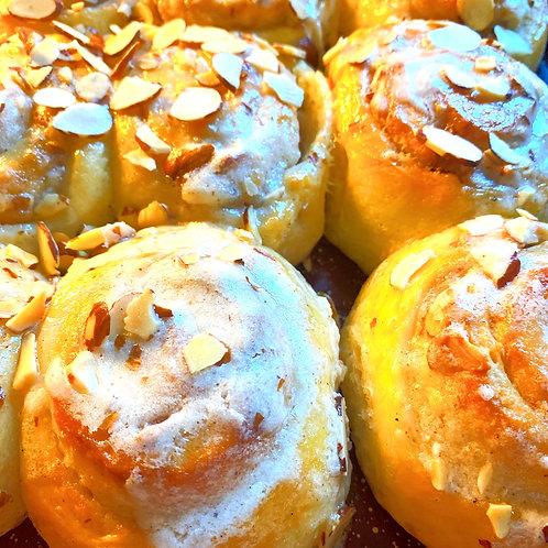 Almond Cream Buns