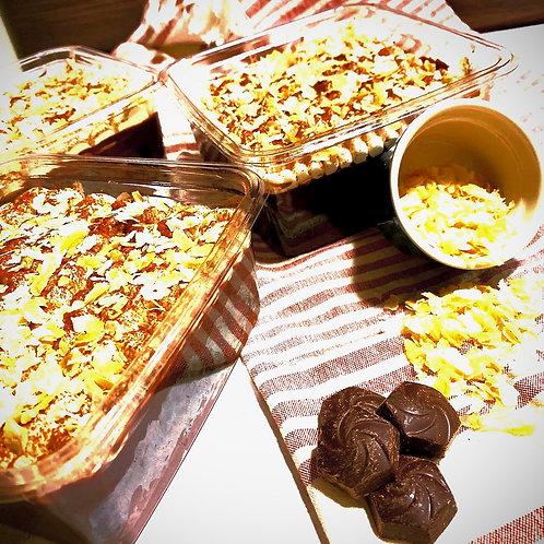 Tsokolate Pinipig crunch