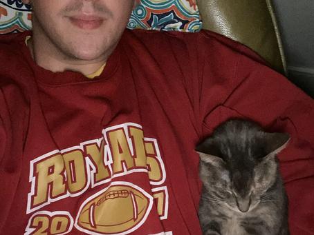 Friday Night Cat Selfies