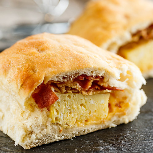 Bacon, Egg & Cheese pig-n-a blanket