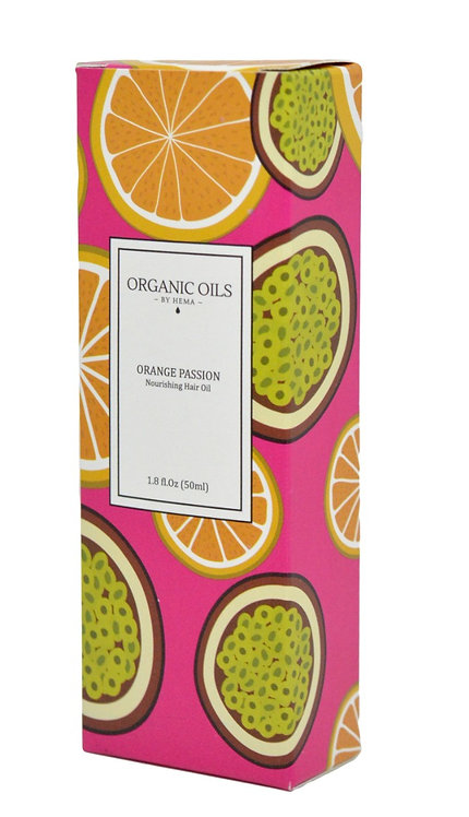 Orange Passion – Nourishing Hair Oil, 50ml